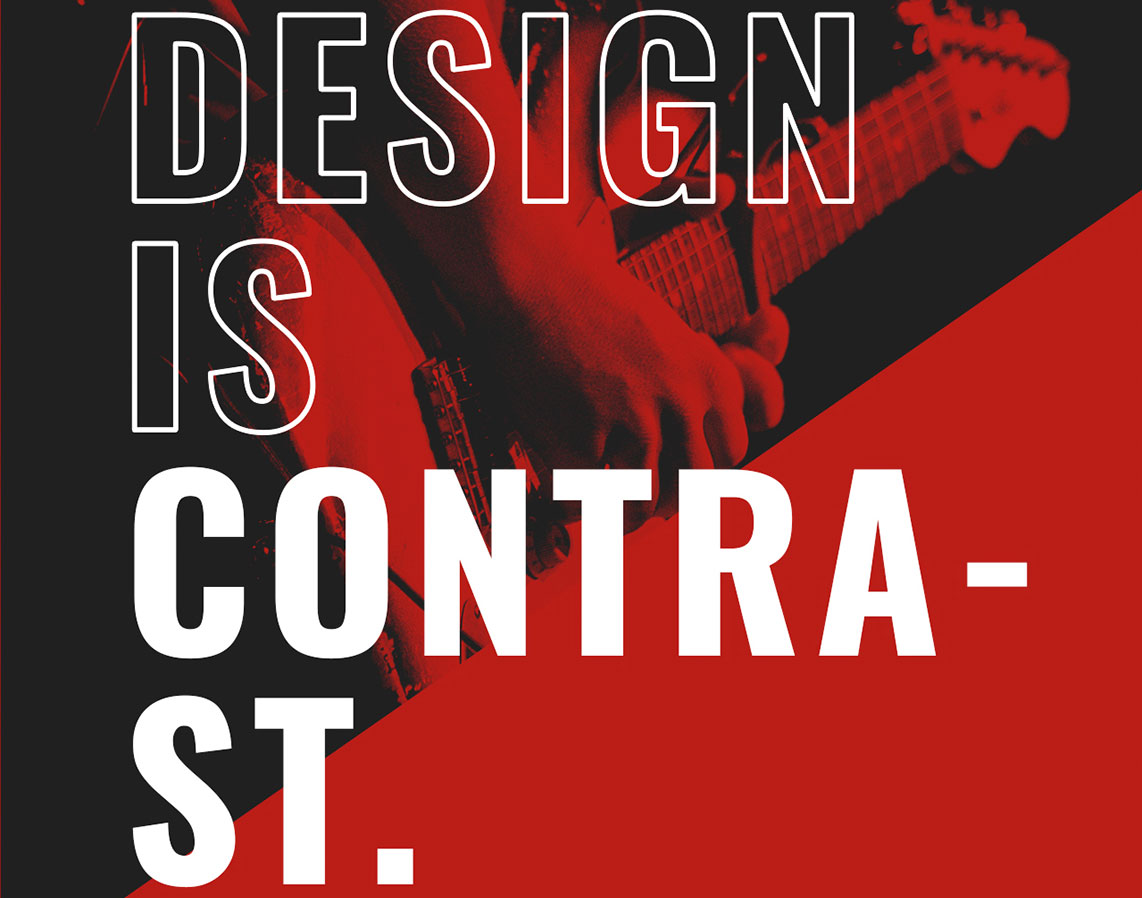 5 principles of design illustrated with Google Fonts
