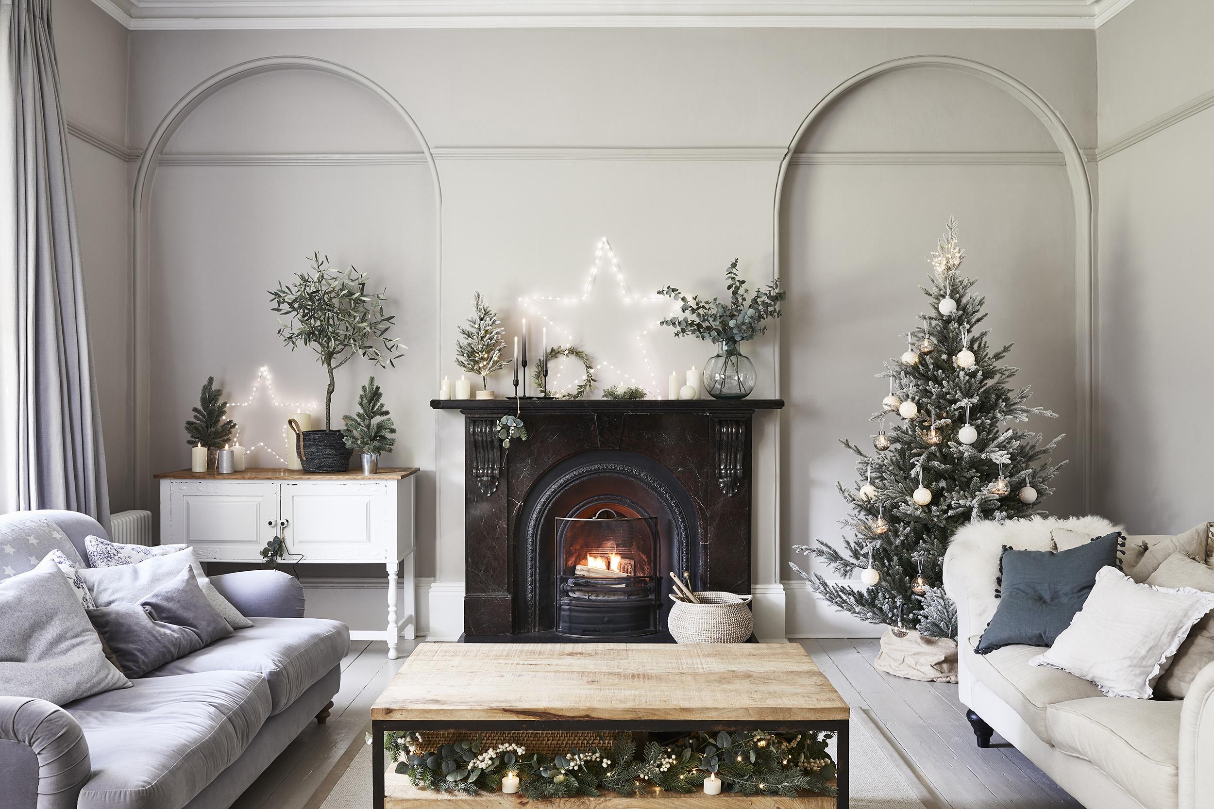 Christmas Fairy Lights 13 Stylish Ways To Light Up Every Room Real Homes