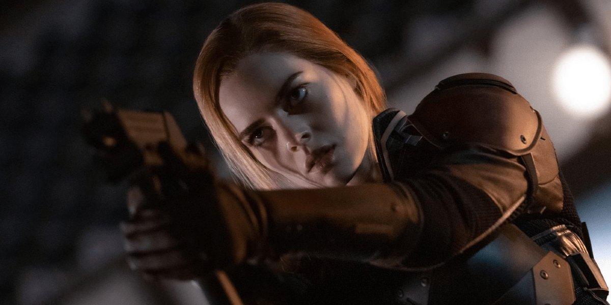 Samara Weaving in Snake Eyes
