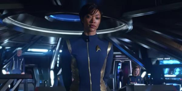 Michael Burnham Sonequa Martin-Green Star Trek: Discovery CBS
