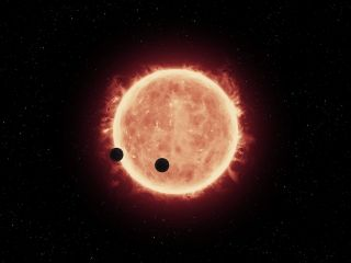 TRAPPIST-1 Planetary System: Artist's Concept