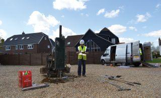 soil survey being undertaken