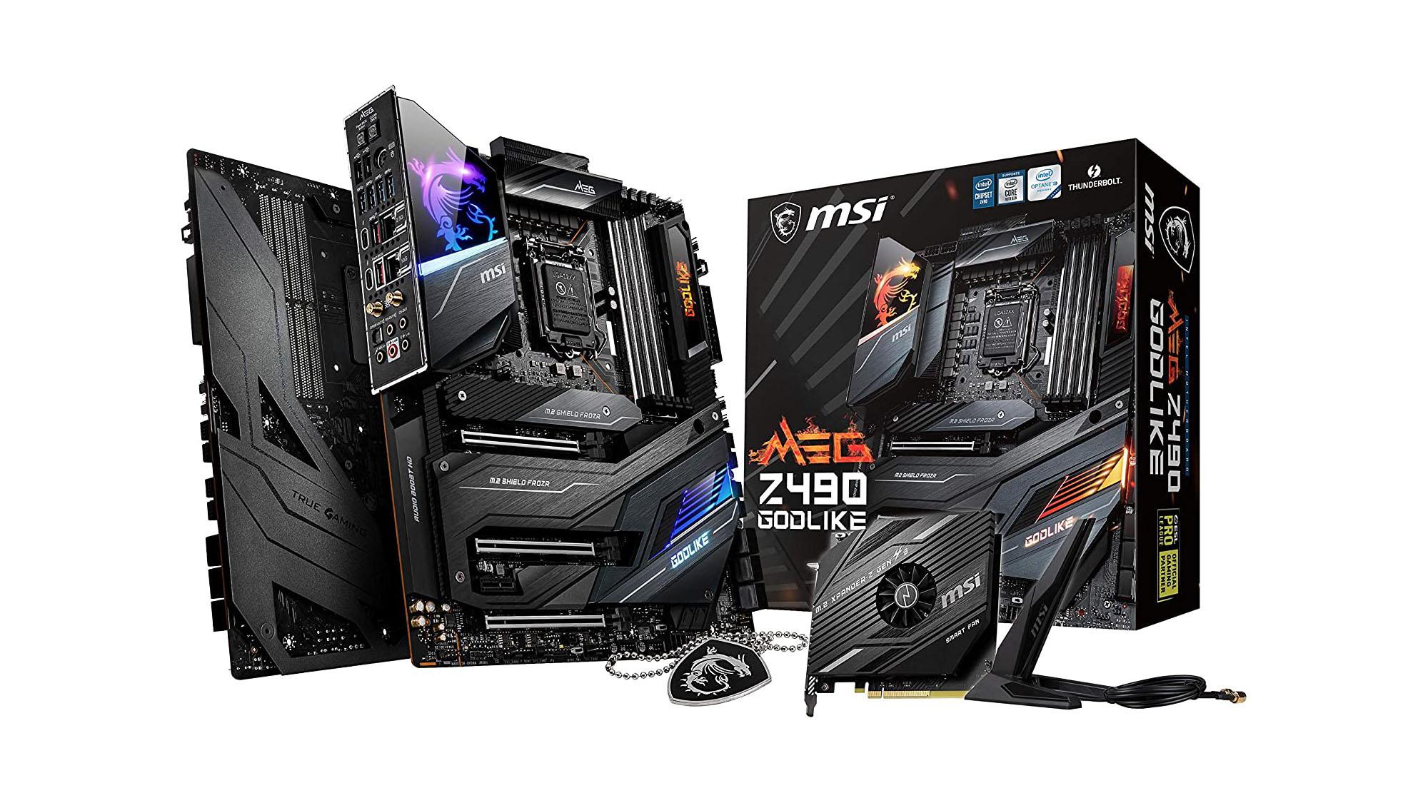 Best motherboards: MSI MEG Z490 Godlike