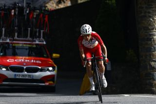 Tour de France 2021 108th Edition 15th stage Ceret Andorra la Vella 1913 km 11072021 Guillaume Martin FRA Cofidis photo Luca BettiniBettiniPhoto2021