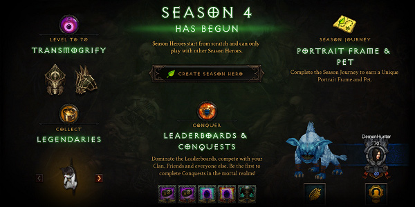 Diablo 3 Season 4's rewards