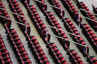 Carolina Hurricanes empty arena