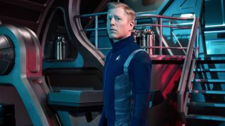"Anthony Rapp as Lieutenant Paul Stamets of the CBS All Access series ""Star Trek: Discovery."""