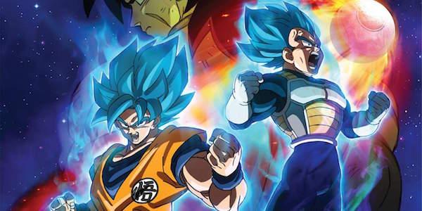 Goku and Vegeta in Dragon Ball Super: Broly