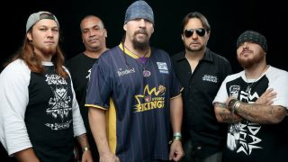 Suicidal Tendencies with Mike Muir, centre