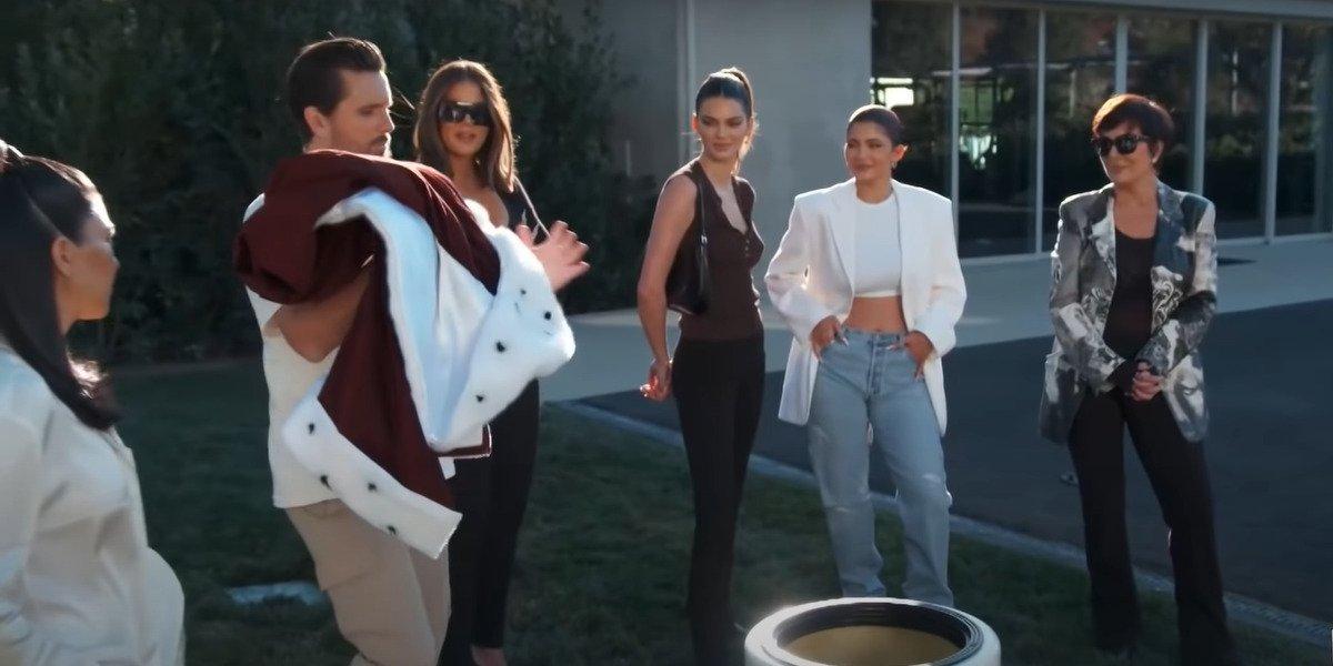 screenshot final season Keeping Up With the Kardashians