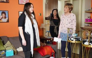 EastEnders Stacey Fowler and Jean Slater argue over Sean