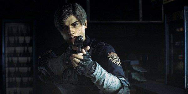 Leon Kennedy in Resident Evil 2