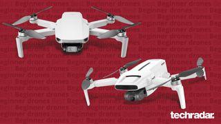 The DJI Mini 2 and FIMI X8 Mini drones