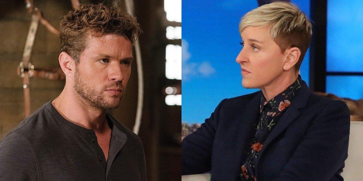 Ryan Phillippe and Ellen DeGeneres