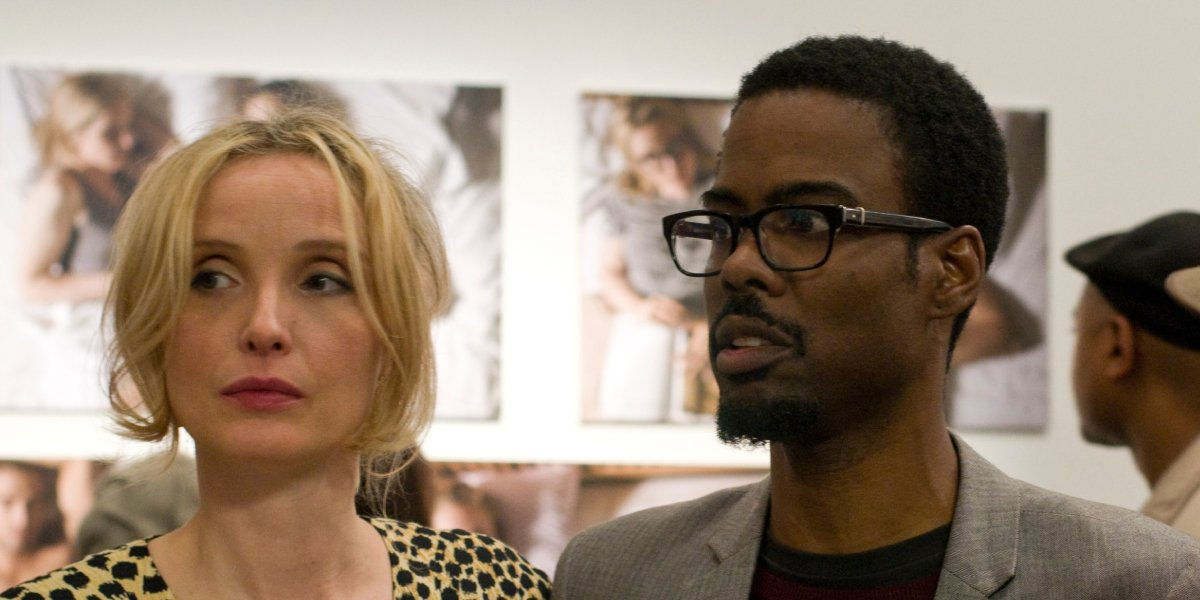 Julie Delpy and Chris Rock in 2 Days in New York