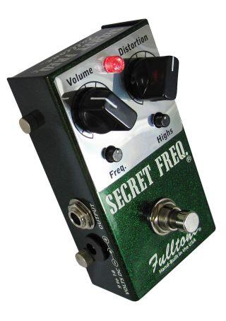 review fulltone secret freq distortion pedal guitarworld. Black Bedroom Furniture Sets. Home Design Ideas