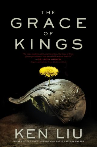 silkpunk, The Grace of Kings book cover