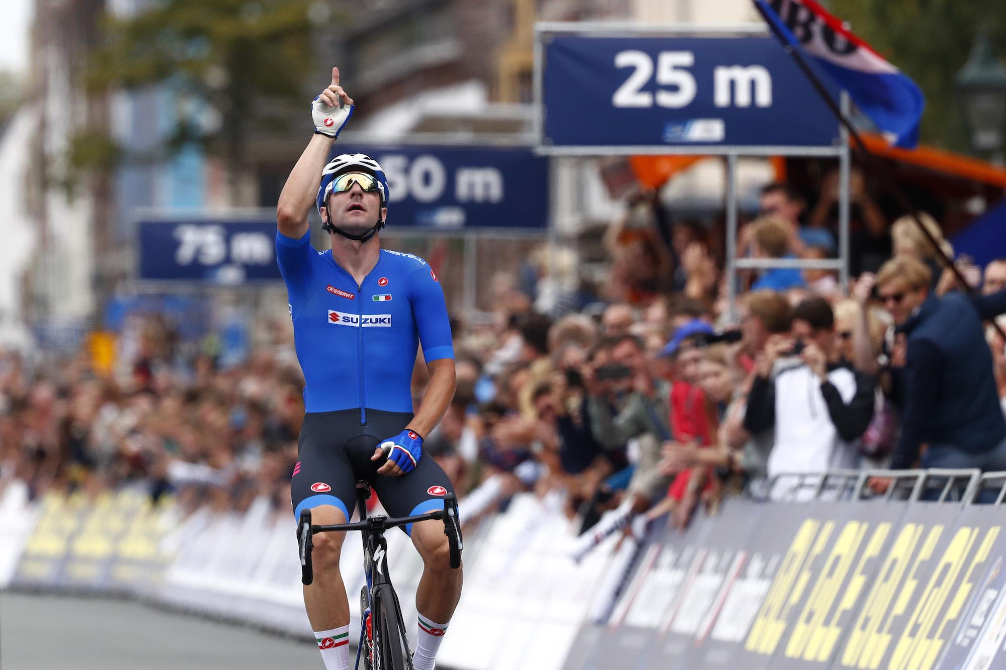 Elia Viviani Beats Yves Lampaert To Take European