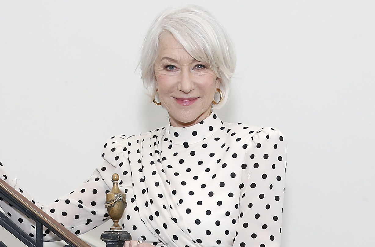 helen mirren emotional message international nurses day