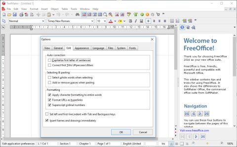 SoftMaker FreeOffice review and where to download review