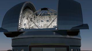 worlds largest telescope heavens