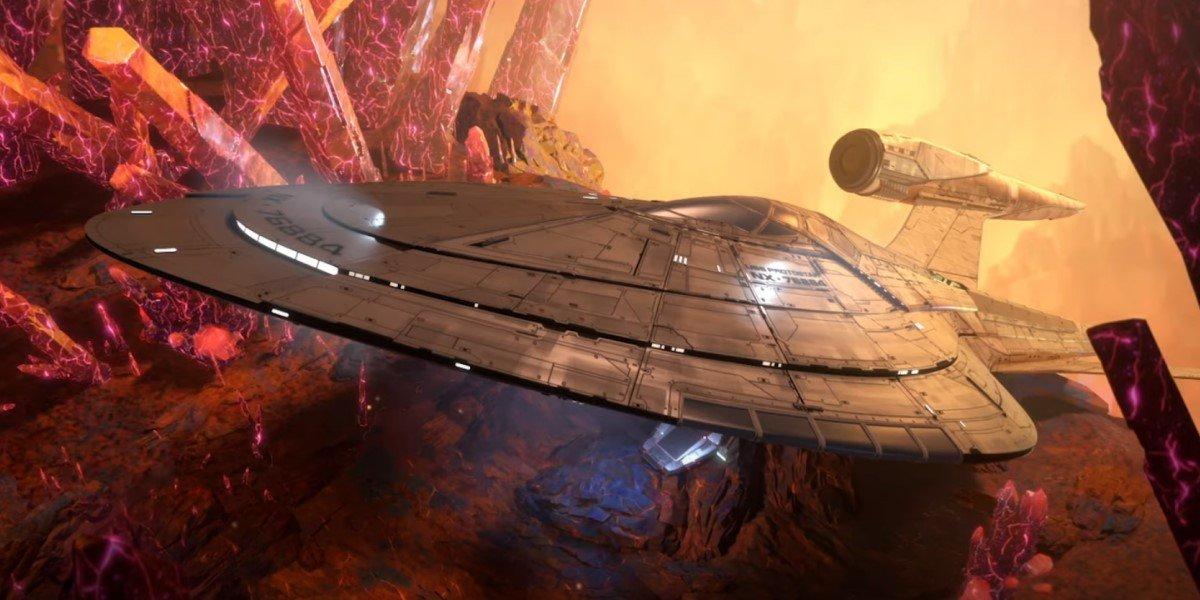 new star trek ship on prodigy