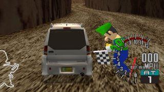 Sega GT Luigi cameo