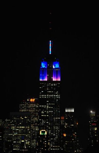 Pixel-Mapping the Empire State Building
