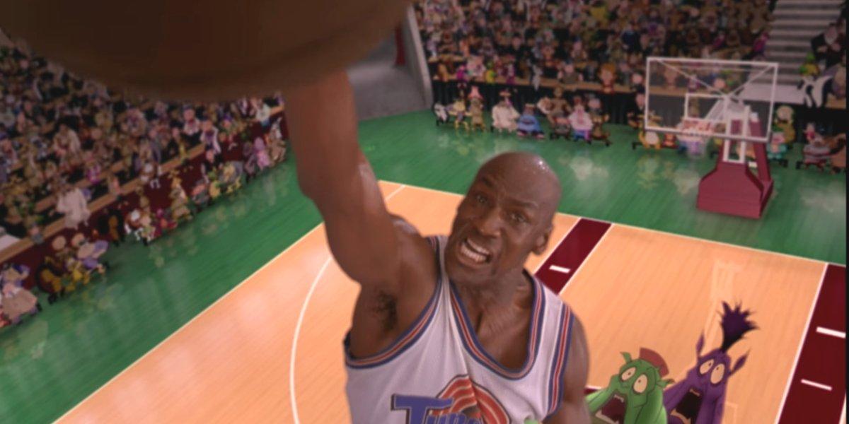 Michael Jordan in Space Jame