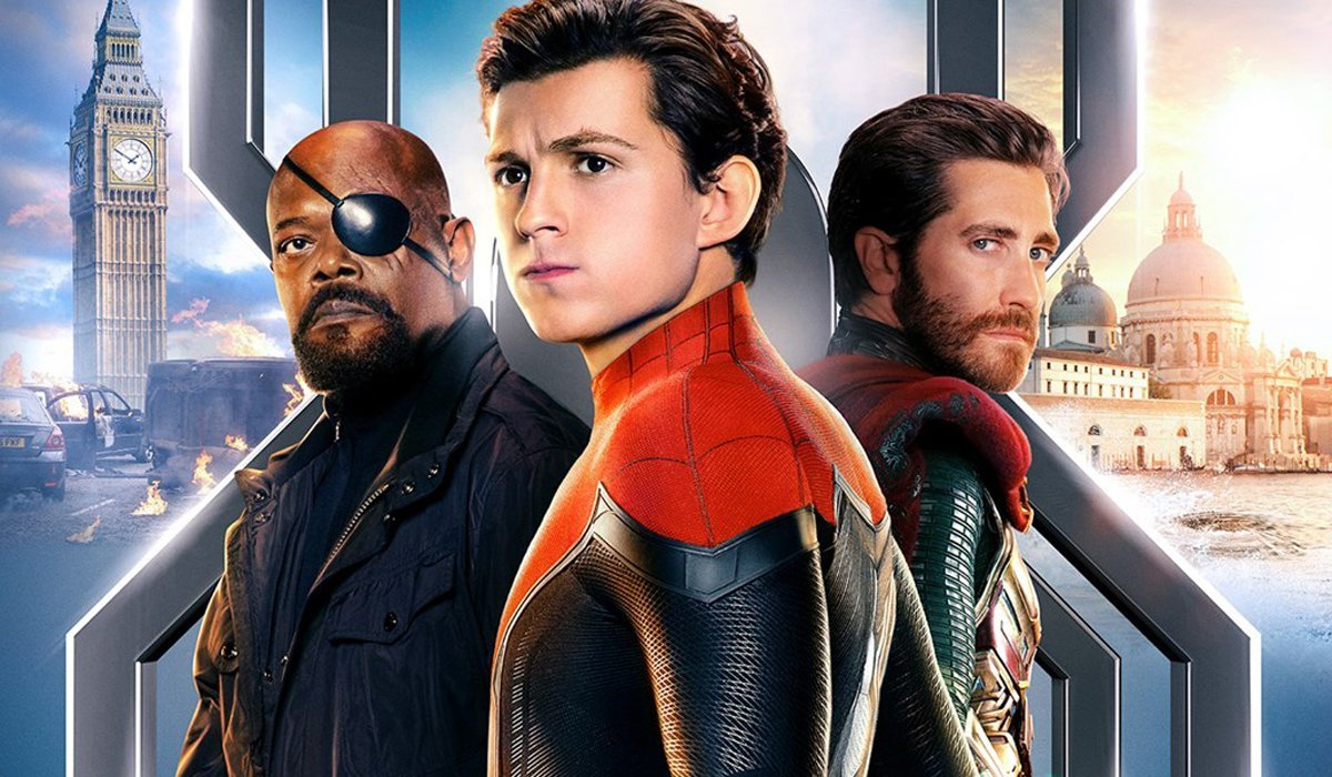 Spider-man Far From Home 2019 Blu-ray