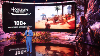 AMD CEO Dr. Lisa Su on stage for CES 2021 keynote