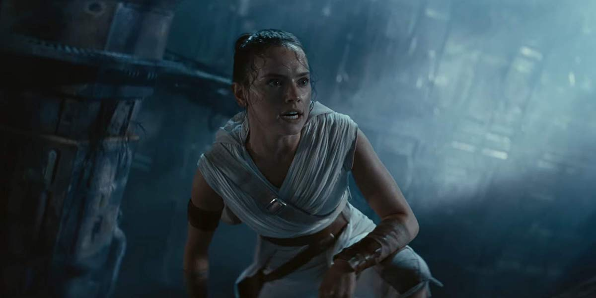 Daisy Ridley as Rey in Star Wars: Rise of Skywalker