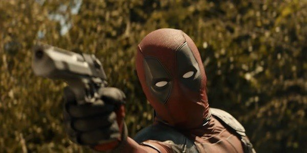 Deadpool on his first mission with the team