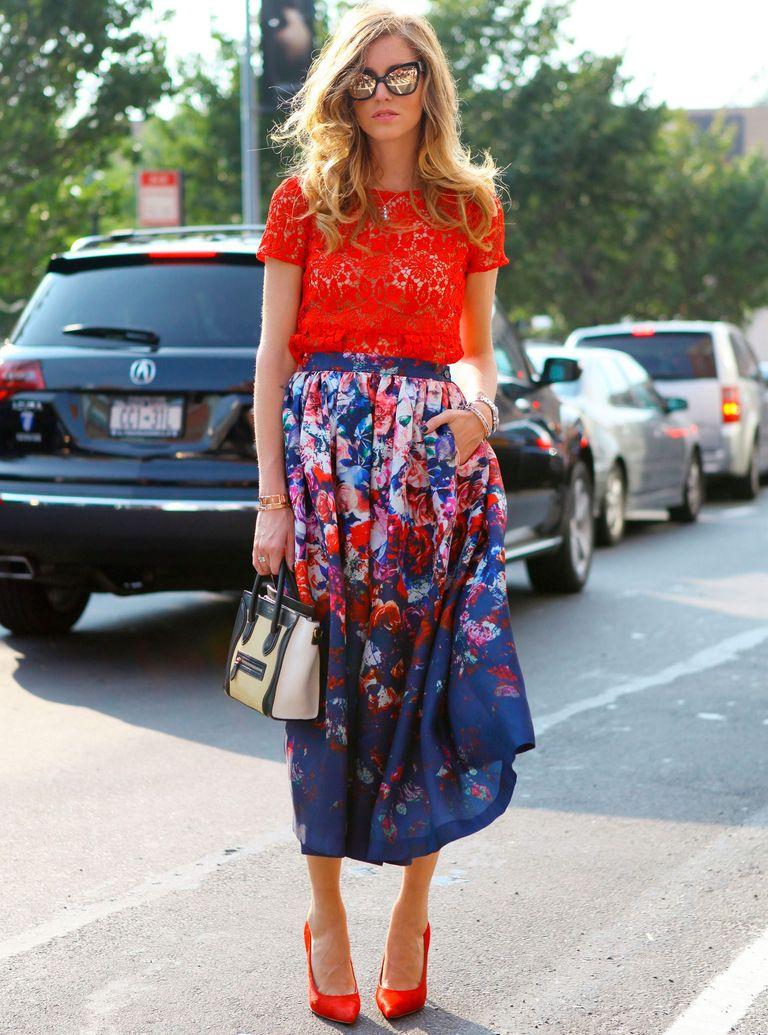 New York Fashion Week Street Style photo