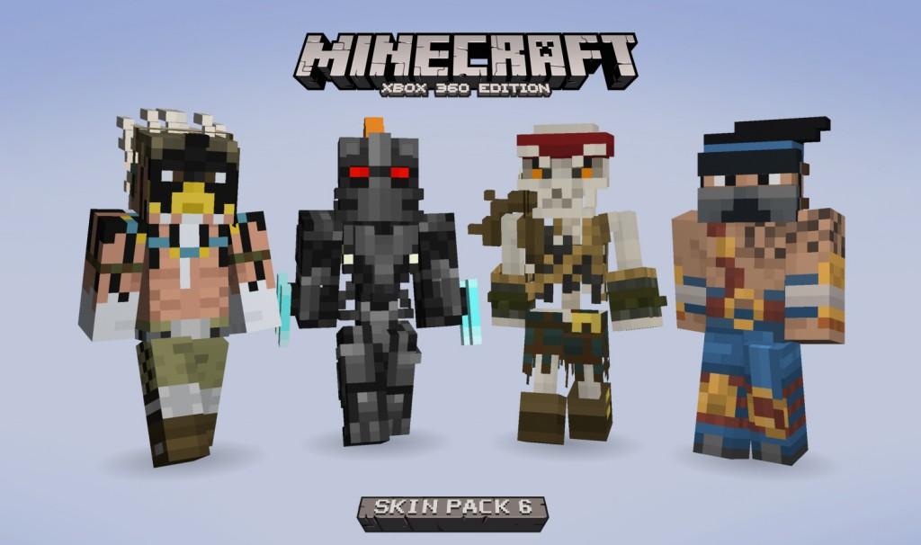 Minecraft Xbox 360 Edition Adding Killer Instinct Skins Soon #31564