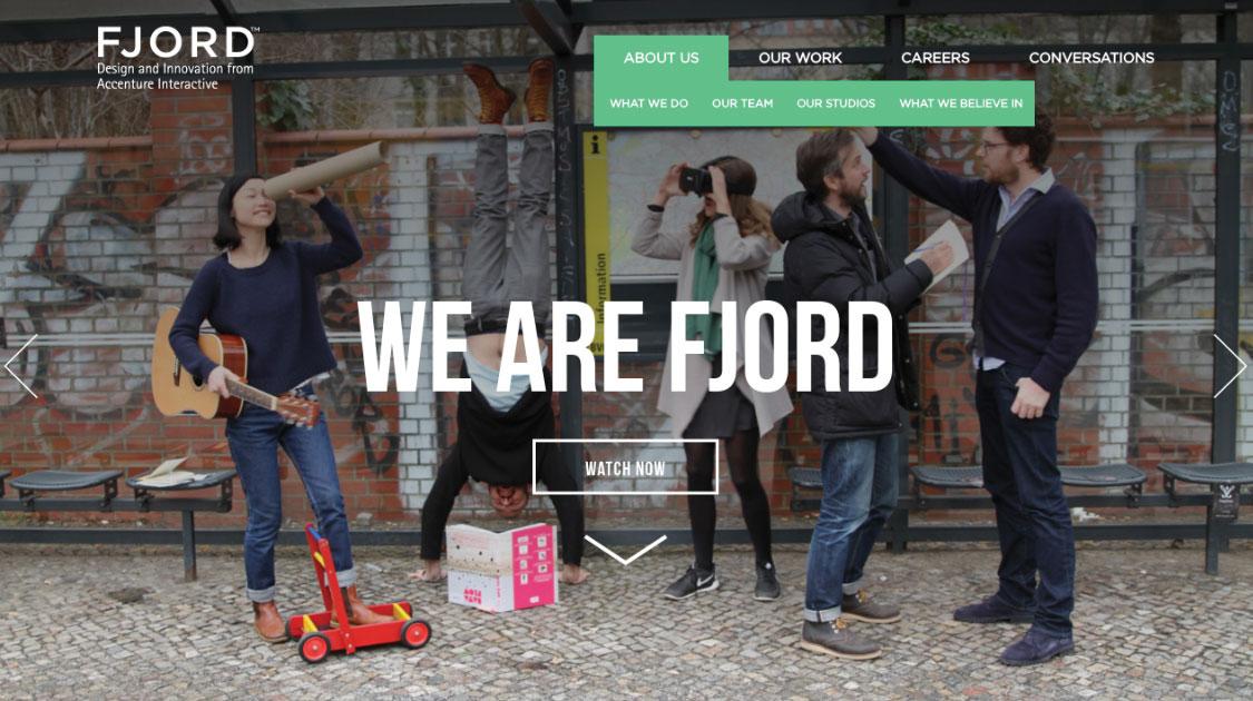 Fjord homepage