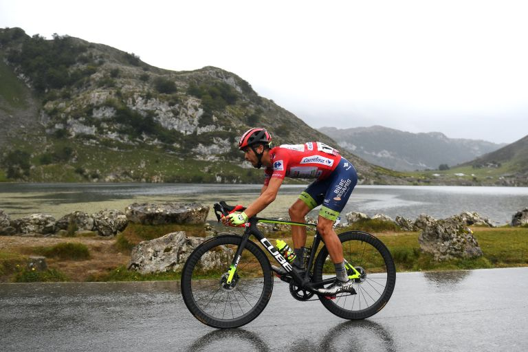 Odd Christian Eiking on stage 17 of the Vuelta a España