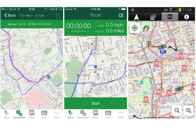 Cycle Hackney app