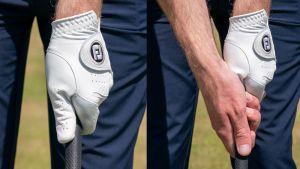 perfect golf grip