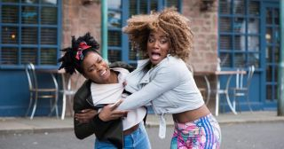 Lisa and Sonia fight in Hollyoaks
