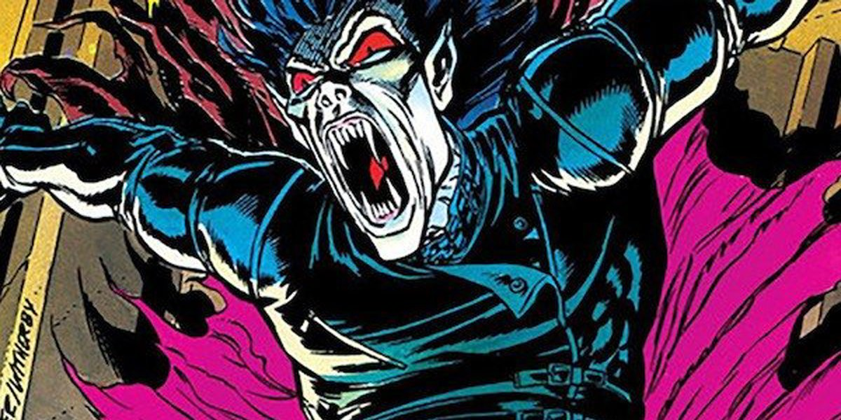 Morbius the Living Vampire Marvel Comics comic book character illustration