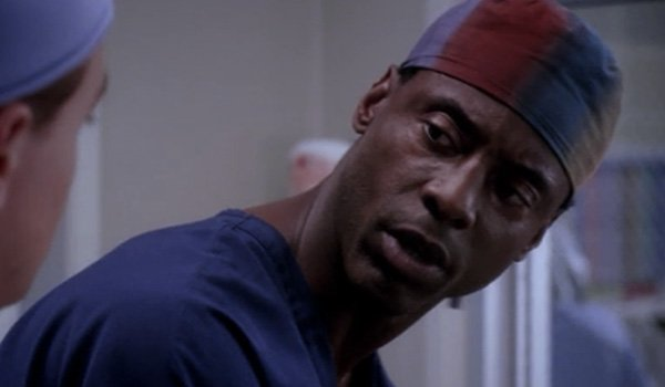 Isaiah Washington as Preston Burke on Grey' Anatomy