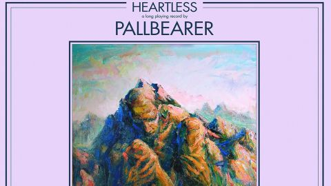 Cover art fro Pallbearer - Heartless album