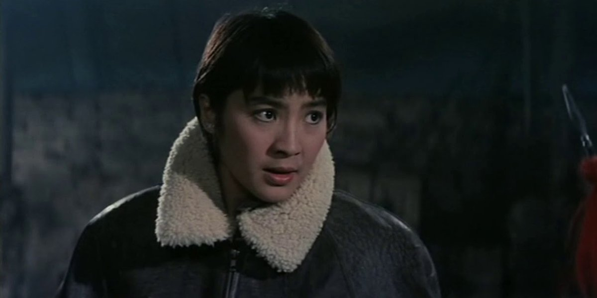 Michelle Yeoh in Magnificent Warriors