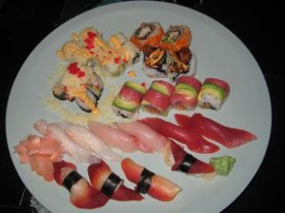 sushi, raw fish, illness, safety, safe
