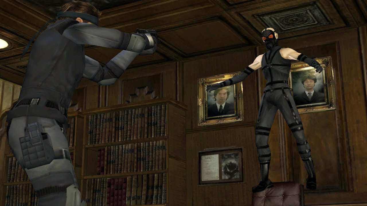 Someone's remaking Metal Gear Solid in Dreams, proving we