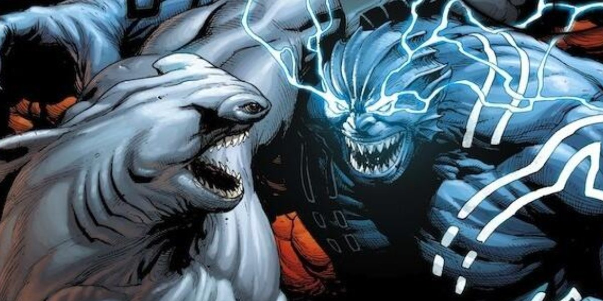 King Shark and Shark God