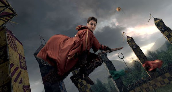 harry potter Quidditch match