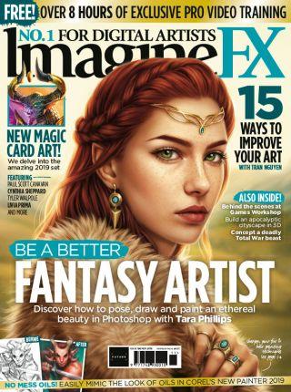 ImagineFX 166 cover