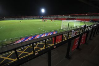 Salford City v Harrogate Town – Sky Bet League Two – Peninsula Stadium